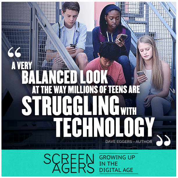 """Back by Popular Demand: """"Screenagers: Growing Up In The Digital Age"""""""